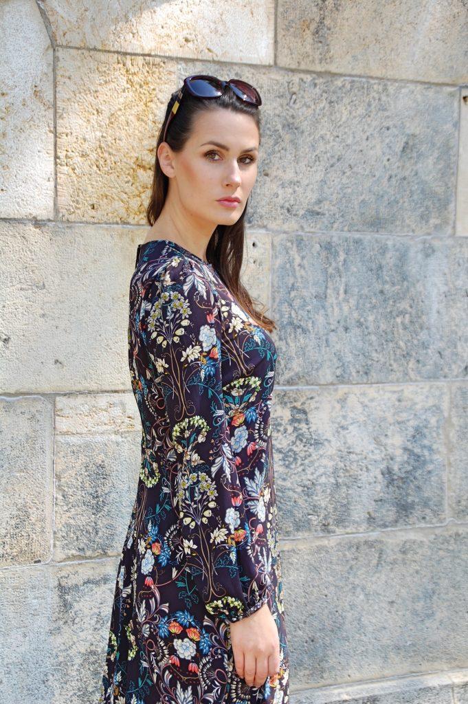 Midikleid_Midi_Fashion_Dress_Kleid_Vintage_Blumenprint_Muster_Blumenkleid2