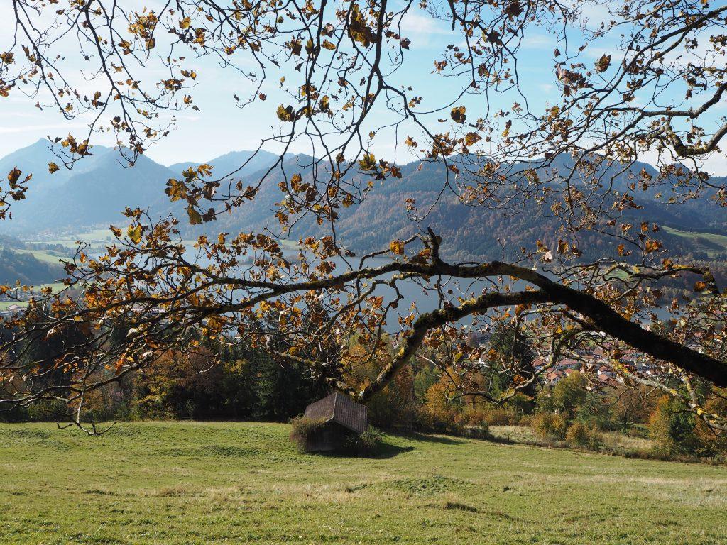 Herbsttag am Schliersee