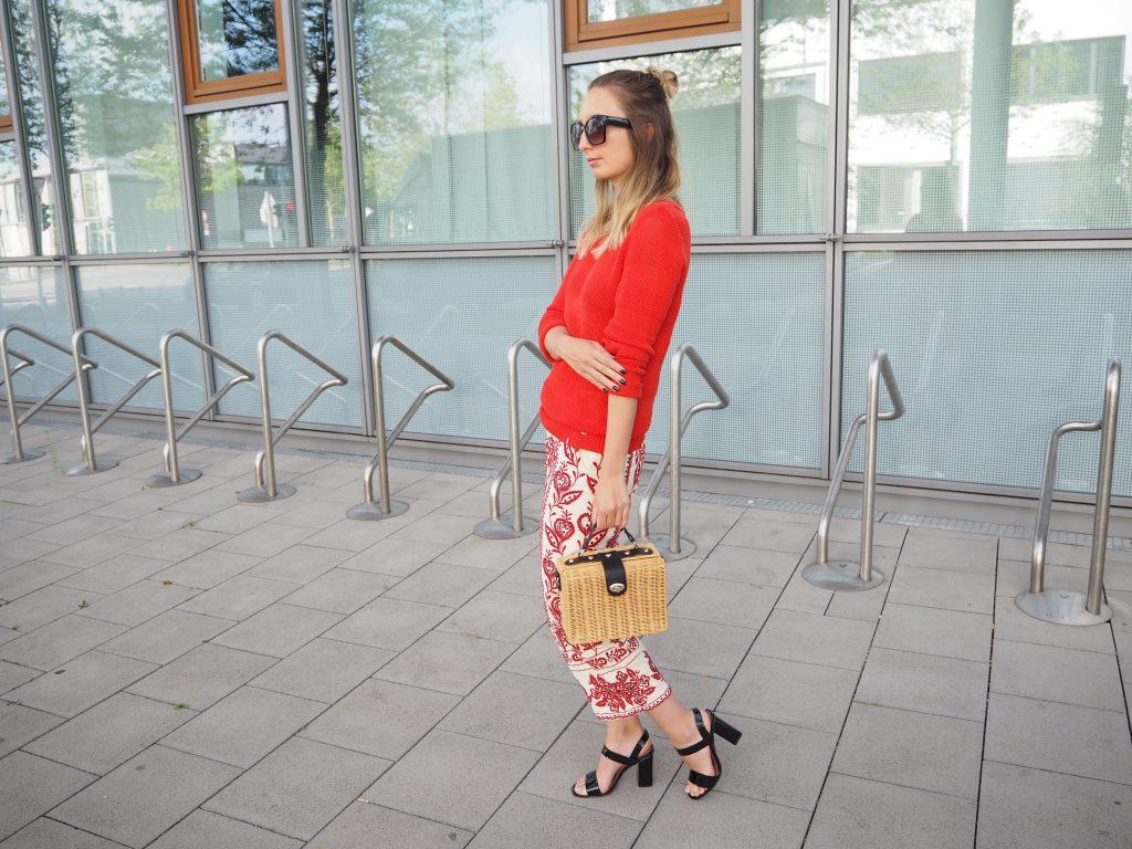 Outfit Trendfarbe Rot Fashionblog Monaco Matz