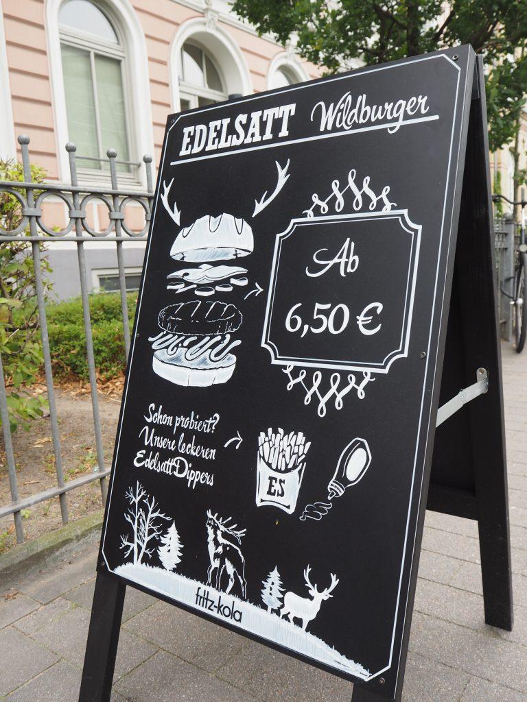 Speisekarte Edelsatt in Hamburg
