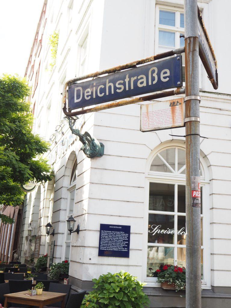 Deichstraße in Hamburg